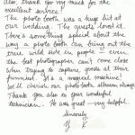 Testimonial Thank You Note