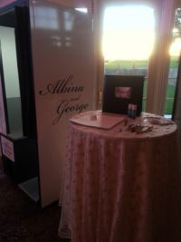 Albina George Wedding Photo Booth