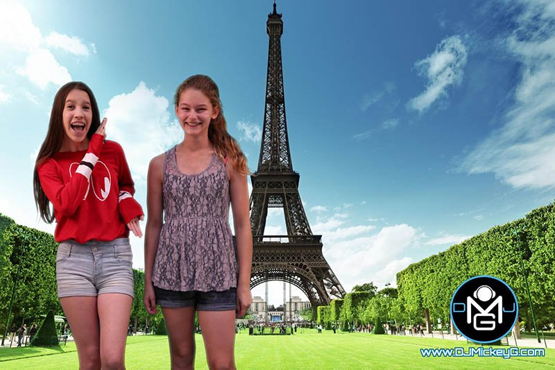 Green Screen Photo Shoot Paris