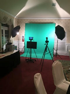 Green Screen Photo Shoot Setup