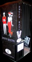 Black Standard Digital Photo Booth Wedding