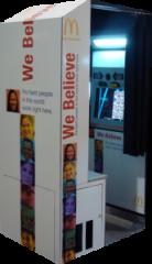 McDonald's We Believe Digital Photo Booth