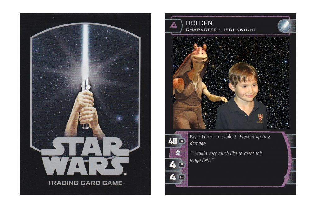 Star Wars Novelty Trading Cards