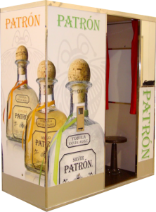 Patron Silver Classic Photo Booth