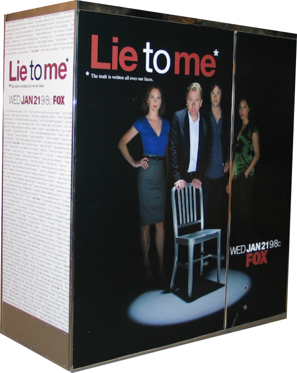 Fox - Lie to Me Classic Photo Booth Back