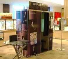 vintage ippolita photo booth