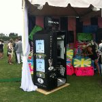 Royal photo booth