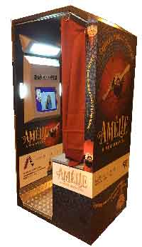 Amelie custom digital photo booth