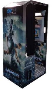 Insurgent branded photo booth