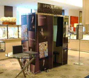 Ippolita at Macy's custom booth