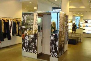 Photo booth leasing at Store in Manhattan, NY